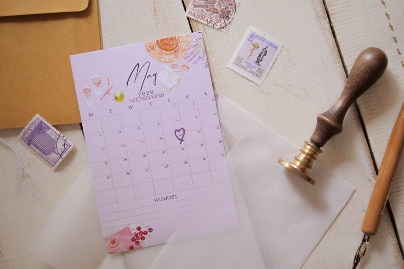 【無料】#今日の小仕事 カレンダー(2020年4月・5月・6月分) 7