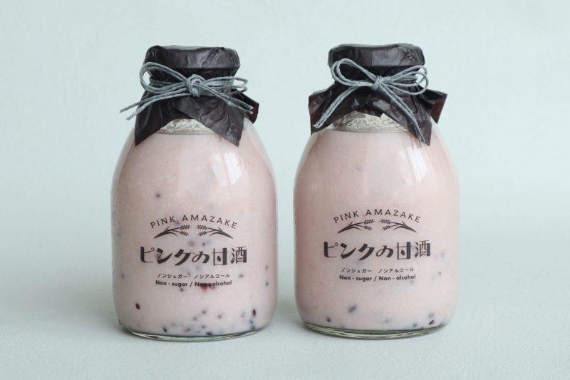 ギフト|ピンクの甘酒・味噌&塩糀セット 2