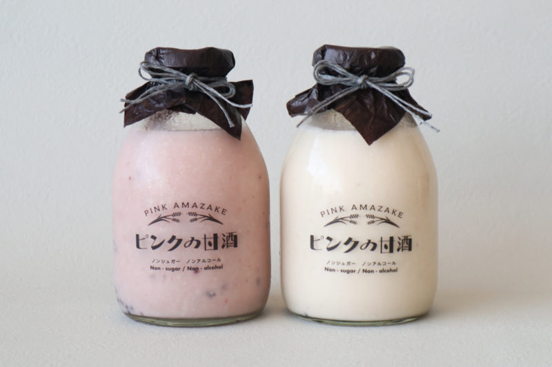 ギフト|ピンクの甘酒・3種の味くらべ味噌セット 6