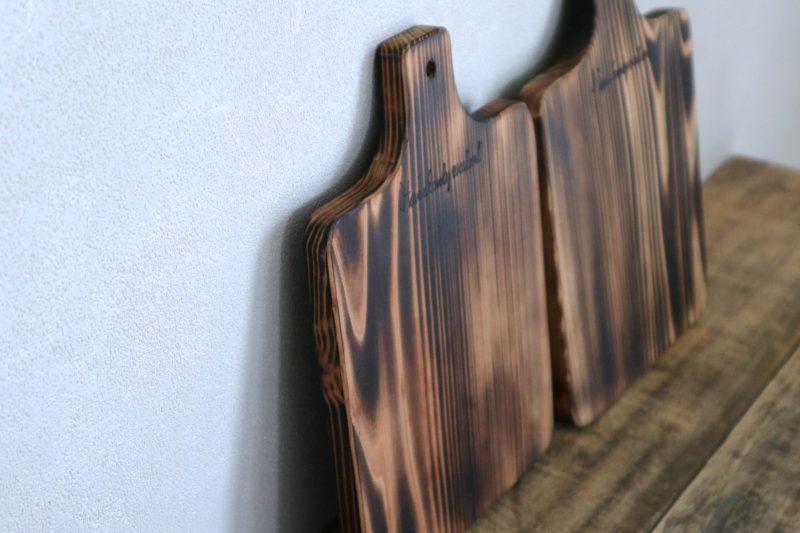 こんがり焼いた、吉野杉のトーストボード 6