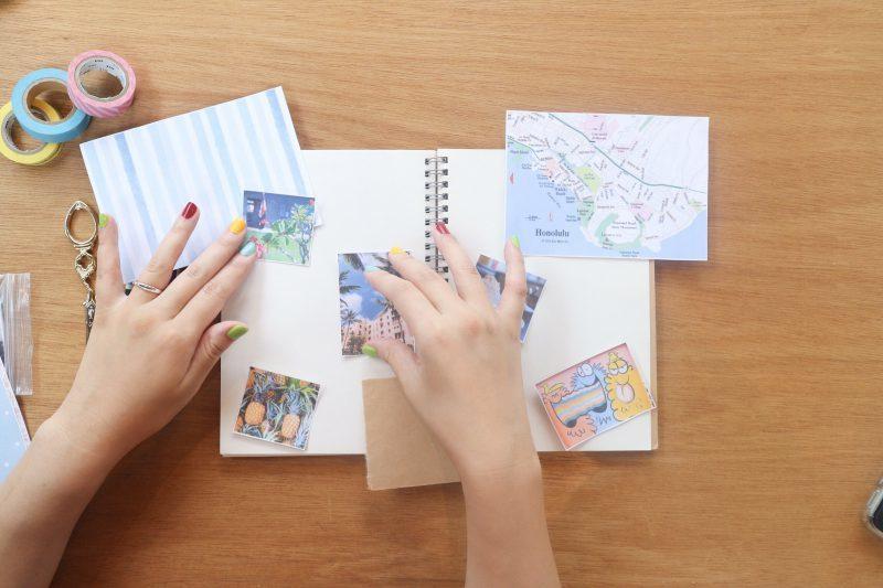 【無料】旅の記録に使いたい、イラスト&メッセージ集 3