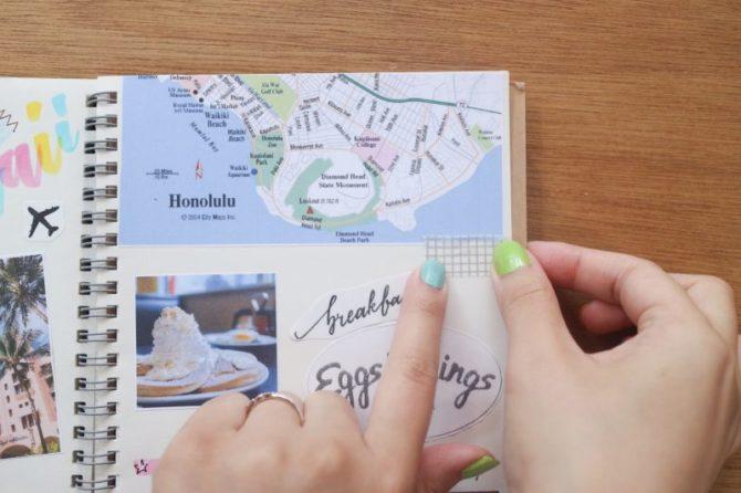 【無料】旅の記録に使いたい、イラスト&メッセージ集