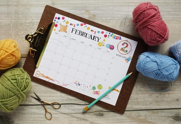 【無料】#今日の小仕事 カレンダー(2018年1月・2月・3月分) 3