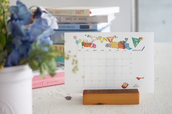【無料】#今日の小仕事 カレンダー(2018年4月・5月・6月分) 2