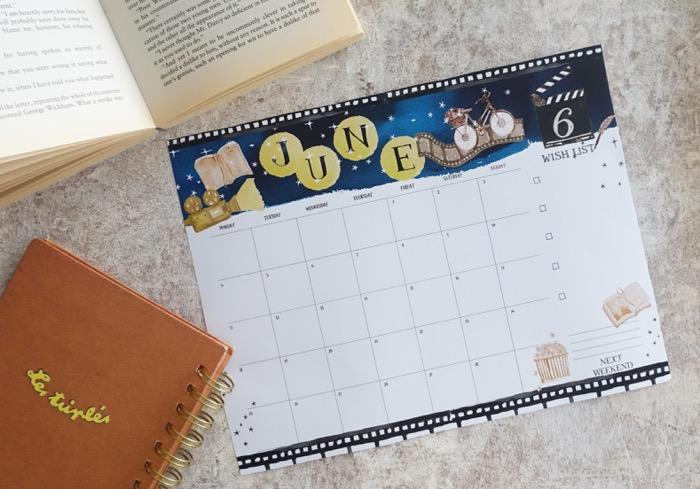 【無料】#今日の小仕事 カレンダー(2018年4月・5月・6月分) 3