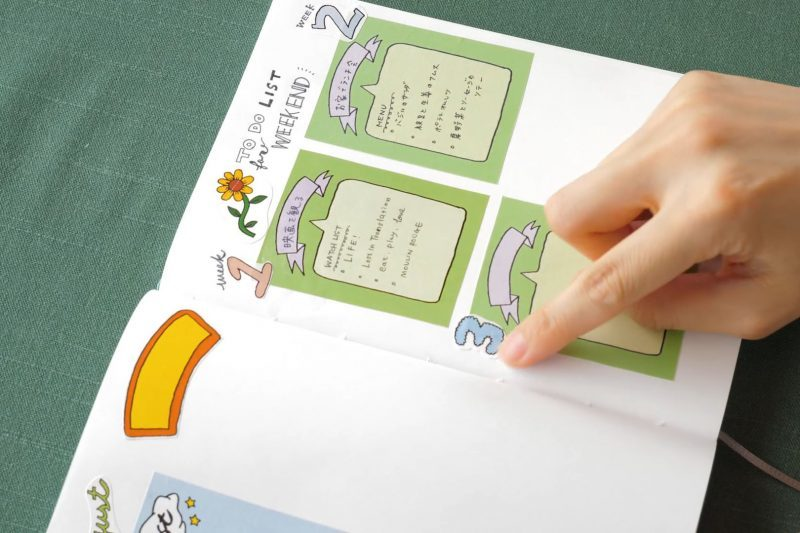 自分らしい手帳づくりを楽しむ、シールデザイン集 6