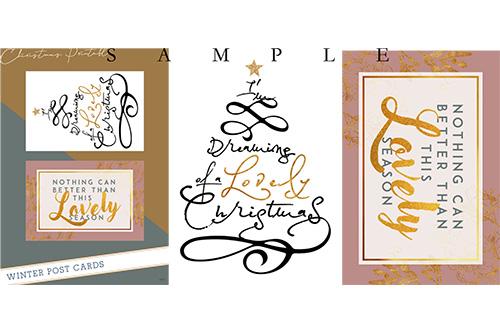 準備から楽しむ、クリスマスデザイン集 7