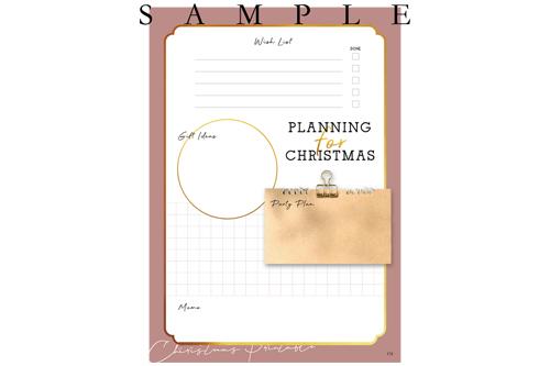 準備から楽しむ、クリスマスデザイン集 9