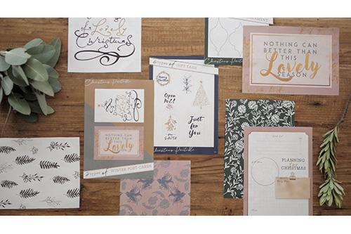 準備から楽しむ、クリスマスデザイン集 2