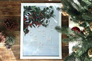 12月のポスターとカレンダー