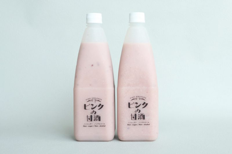 Sピンクの甘酒 プロセット(2本) 5