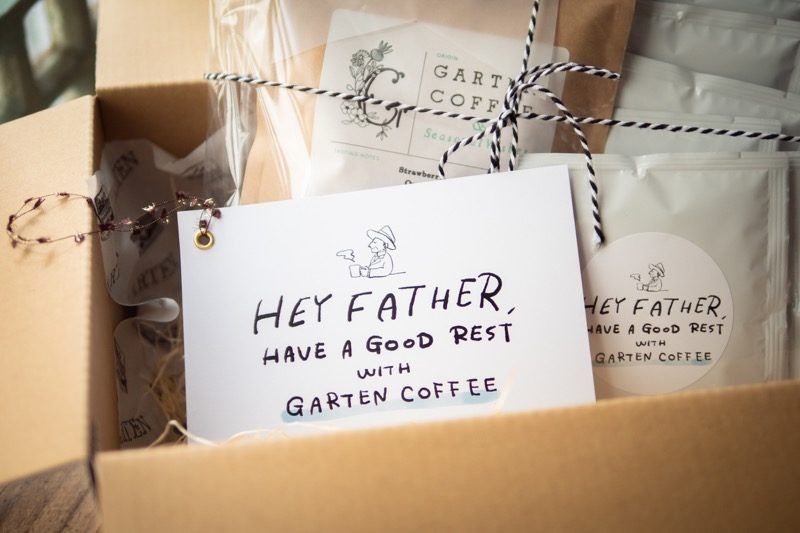 【SOLD OUT】選べるメッセージ付き GARTEN COFFEE父の日ギフト 3