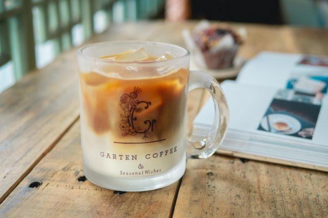 【SOLD OUT】GARTEN COFFEEガラスマグカップ