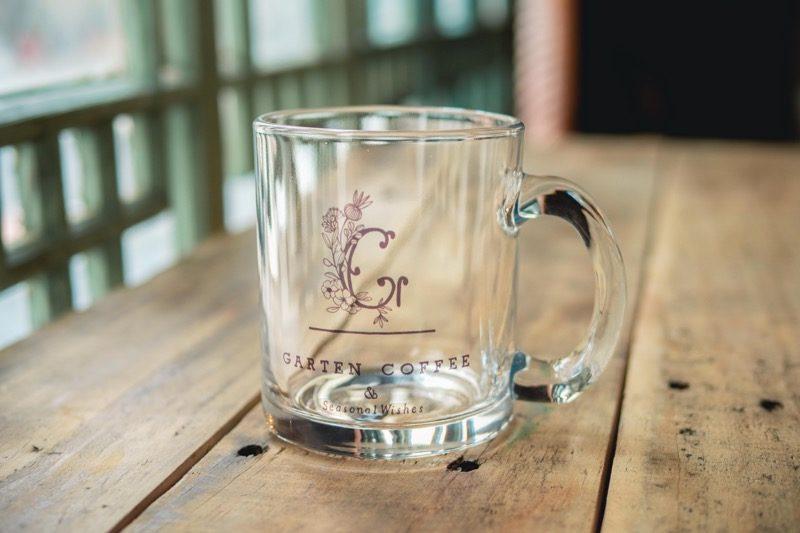 【SOLD OUT】GARTEN COFFEEガラスマグカップ 2