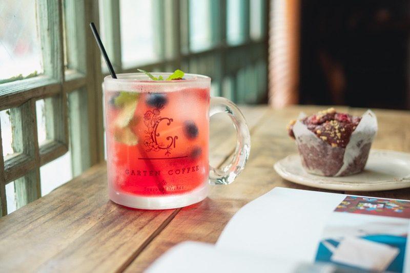 【SOLD OUT】GARTEN COFFEEガラスマグカップ 4