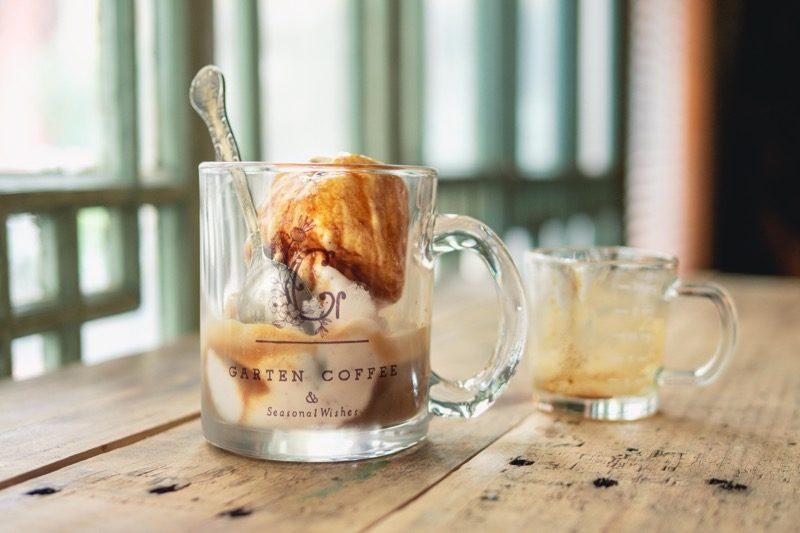S【SOLD OUT】GARTEN COFFEEガラスマグカップ 5