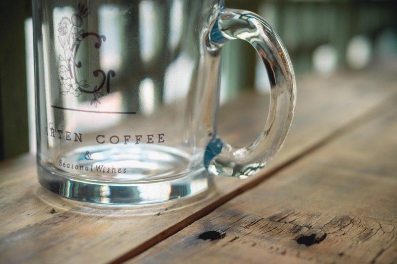 【SOLD OUT】GARTEN COFFEEガラスマグカップ 6