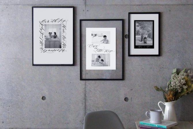 【無料】家族のヒストリー写真が飾れる、シックなフォト台紙集
