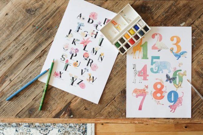 【無料】大人も子どもも嬉しいインテリアを作れる、ポスターデザイン集