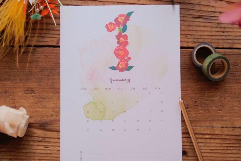 【無料】#今日の小仕事 カレンダー(2021年1月・2月・3月分) 3