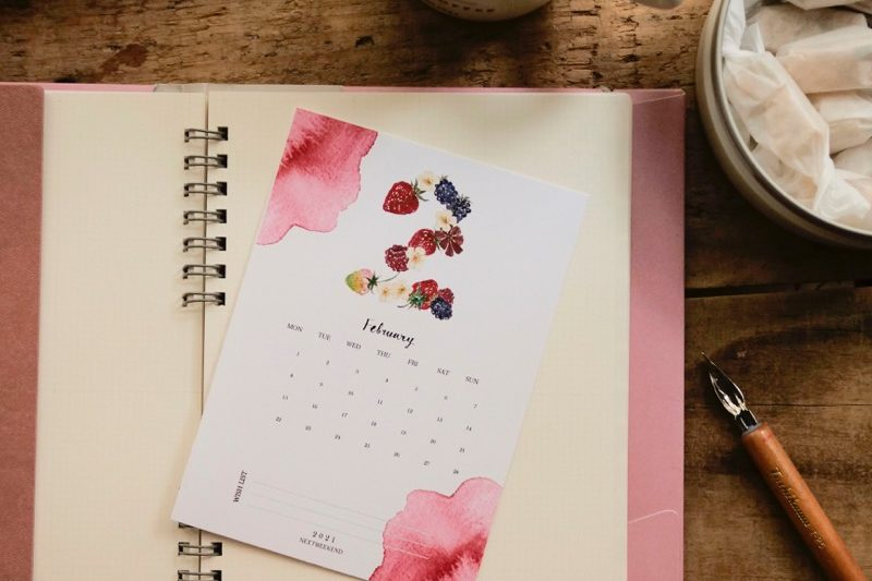 【無料】#今日の小仕事 カレンダー(2021年1月・2月・3月分) 4