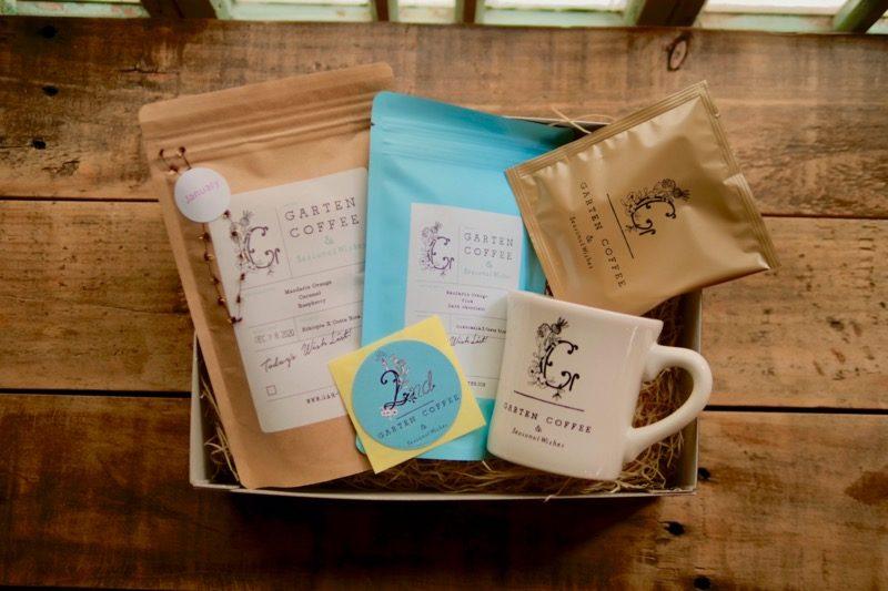 【マグカップ入り】おうちで楽しむGARTEN COFFEE2周年セット(限定ステッカー付き) 1