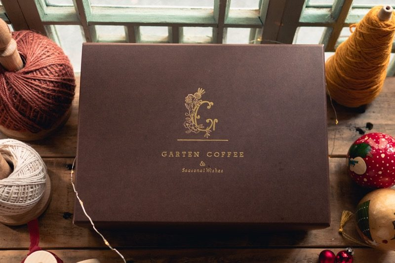 【お豆たっぷり】おうちで楽しむGARTEN COFFEE2周年セット(限定ステッカー付き) 9