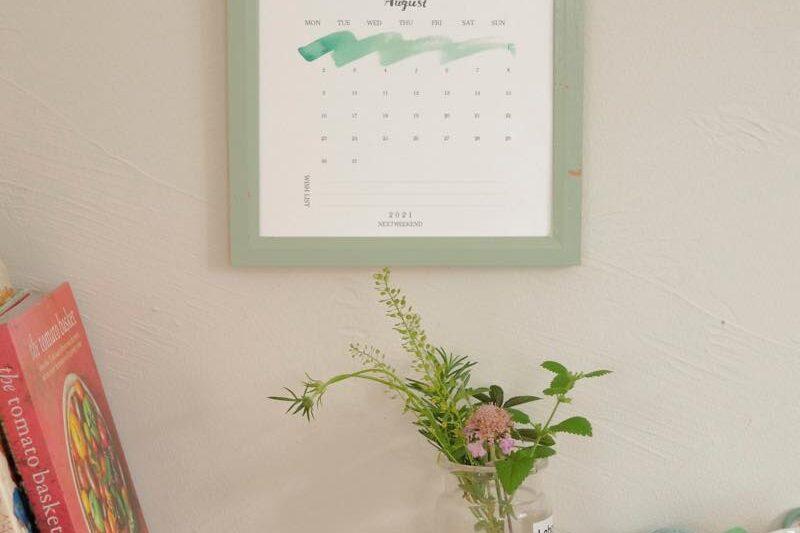 【無料】#今日の小仕事 カレンダー(2021年7月・8月・9月分) 3