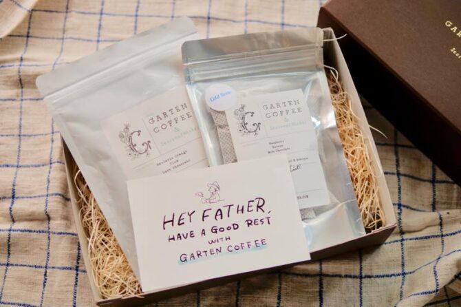 【父の日ギフト】GARTEN COFFEE 定番ブレンドのコーヒー豆と水出しコーヒーのセット