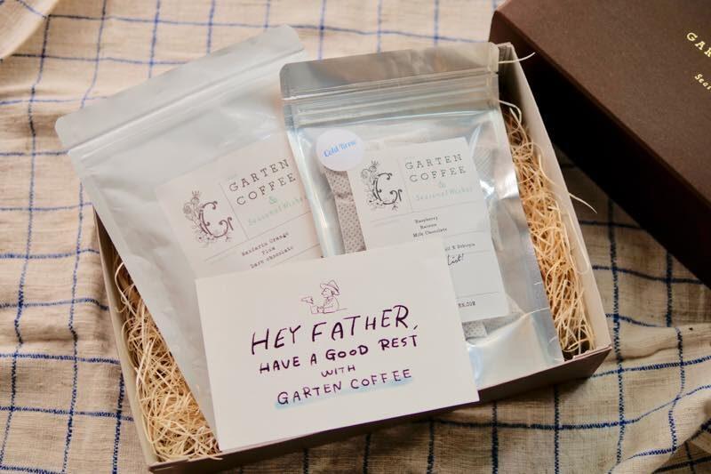 【父の日ギフト】GARTEN COFFEE 定番ブレンドのコーヒー豆と水出しコーヒーのセット 1