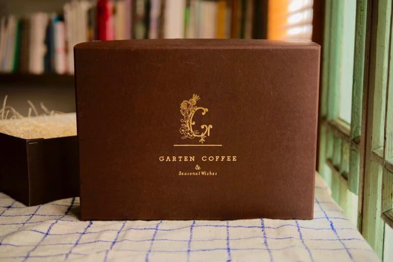【父の日ギフト】GARTEN COFFEE 定番ブレンドのコーヒー豆と水出しコーヒーのセット 8