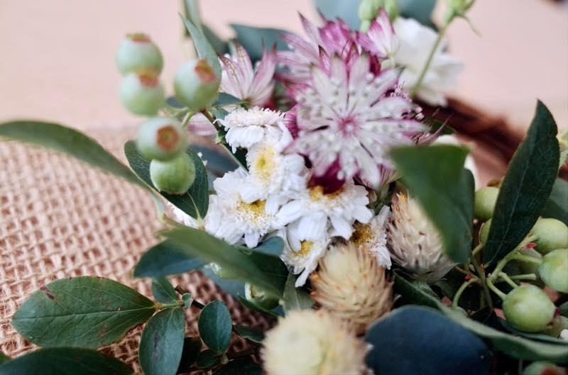 S#週末野心学|7/3開講「お部屋に初夏の彩りを。ブルーベリーとユーカリで作るハーフリース」 5