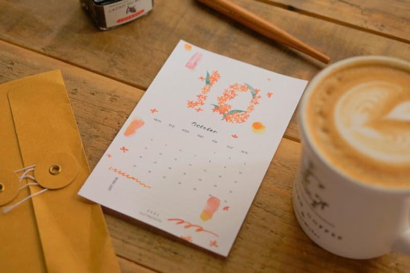 【無料】#今日の小仕事 カレンダー(2021年10月・11月・12月分) 3