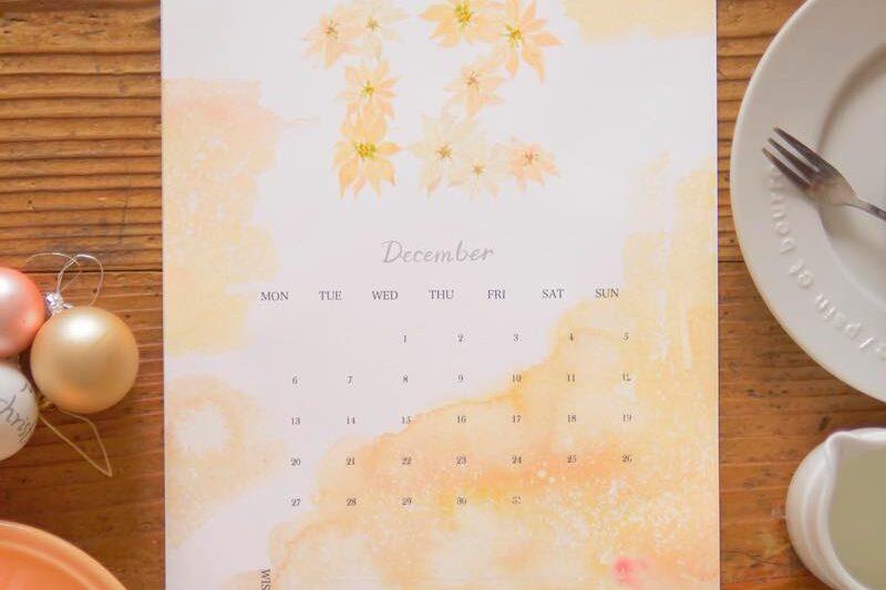 S【無料】#今日の小仕事 カレンダー(2021年10月・11月・12月分) 5